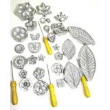 Kit-Frisador-Para-Flores-De-Eva-Com-14-Pecas-Em-Aluminio