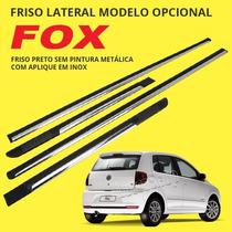 Friso Do Fox Modelo Opcional - Preto Com Aplique Em Inox