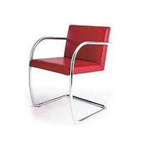 Cadeira Brno Tubular Cromada