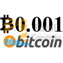 0.001 Bitcoin Btc Moeda Virtual Envio Instantâneo Criptomoed