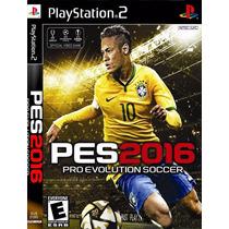 Nova Atualização Ps2 Pes 16 Pro Evolution Soccer 2016 Patch