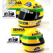 1/2 Capacete Bell Ayrton Senna Williams F1 1994 San Marino