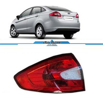 Lanterna New Fiesta Ford 12 13 14 Sedan Traseira Esquerda