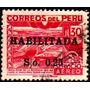 Col 03626 Peru Aéreo 97 Sistema De Irrigação C/ Sobrecarga U