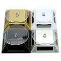 Expositor Rotativo Solar 360º Vitrine/jóias Kit 2 Unid.