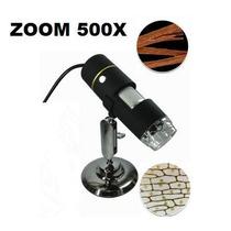 Microscópio Digital Usb 500x +suporte + Software