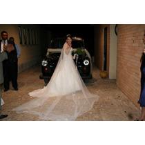 Vestido De Noiva - Fabricado Em Paris -