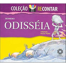 Livro Odisseia - Coleçao Recontar - Semi-novo