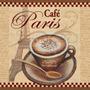 Xicara Café Cozinha Placa Decoração Retro P/ Bar Lanchonete