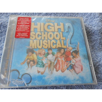 High School Musical 2 Cd Trilha Sonora Filme Original Novo