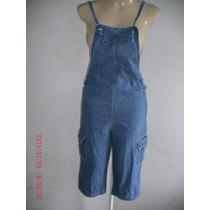 Lindo Macacão Jeans - Anabru Tam:p