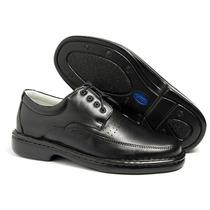 Sapato Masculino Social Casual Antistress Couro Ref. 0761