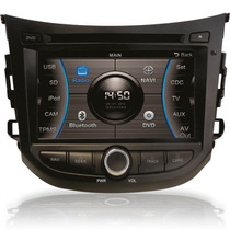 Central Multimídia M1 Hb20 Original Hyundai Dvd Gps Cam. Ré
