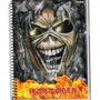 Caderno Iron Maiden 10 Materia 200 Folhas