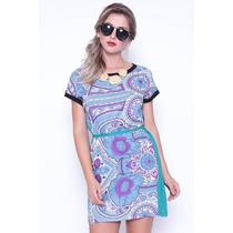 Vestido Azulejos Estilo Boutique