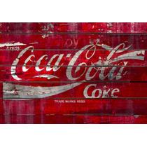 Poster Quadro Coca-cola Decoração Churrasqueira Bares Salas