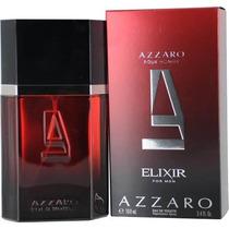 Perfume Francês Masculino Elixir For Men By Azzaro 100ml Edt