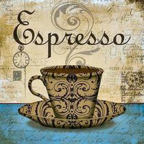 Xicara Café Cozinha Placa Decoração Retro Vintage - Novidade
