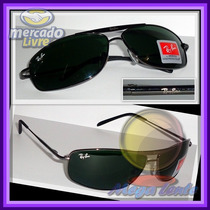 Óculos 8016 Grafite Lentes Escuras