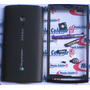 Carcaça Sony Ericsson Xperia X10 Black Completa
