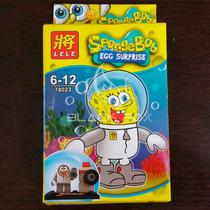 Bob Esponja Spongebob Lele Compatível Com Lego Modelo 3