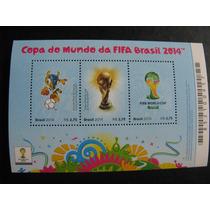 Selo Comemorativo - Copa Do Mundo - Bloco