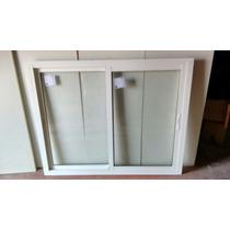 Janelas De Correr 2 Fls Alumínio Branco C/ Vidros Insulados