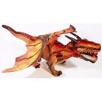 Dinossauro Dragão 45cm Bate Asas, Anda E Acende