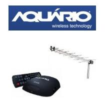 Kit Conversor /gravador Digital Dtv5000 + Antena Uhf Aquário