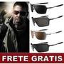Óculos Probation Lente 100% Polarizada Frete Grátis + Brinde