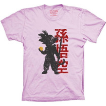 Camiseta Goku Dragon Ball Esferas Do Dragão Desenho Goku