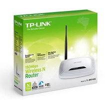 Roteador 1 Antena 150mbps Wireless Lite N Tl-wr741nd - Tp-li