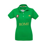 Camisa Polo Feminina Rome Verde - Club Polo Collection
