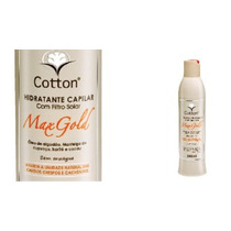 Hidratante Capilar Max Gold Cotton - 340ml