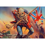 Eddie Banda Iron Maiden Poster 60x84cm Rock Hd The Trooper