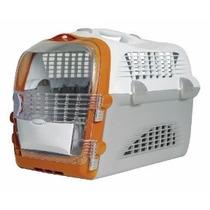 Caixa De Transporte Cabrio Pet Cargo Hagen Vira Casinha Gato