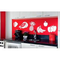 Adesivo Decorativo Frutas(40x24)cm - Frete Gratis