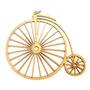 Bicicleta Mdf Cru Recorte Escultura Parede Aplique 60cm
