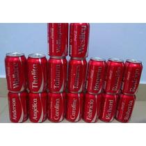 Latas Coca Cola Com Nomes Cheias