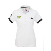 Camisa Polo Feminina Jamaica Branca - Club Polo Collection