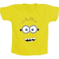 Camiseta Infantil Personagens Minions - Meu Malvado Favorito