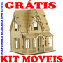 Kit 10 Casas De Bonecas Mdf P Polly = 6 C1 E 4 C6 Revenda