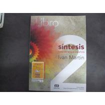 R/m - Livro - Sintesis Curso De Lengua Espanola 2 Ensino Med