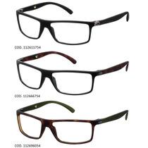 Armação Para Oculos De Grau Mormaii Eclipse Full - Garantia