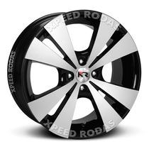 Roda Krmai R39 Aro 13 Furação 4x100 Black Diamantada