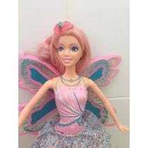 Fada Barbie Asa Transparente