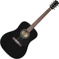 Violao Fender Folk Acústico Aço Dreadnought Cd60 Preto
