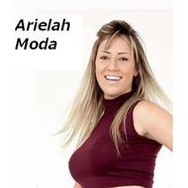 Top Cropped Blusinha Gola Alta Blogueira Viscolycra