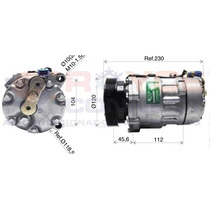 Compressor Sd7v16 Vw Polo / Golf Passat Ate 98