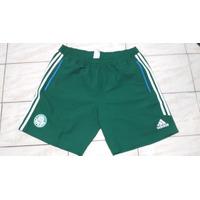 Bermuda Palmeiras Viagem Tactel Adidas Verde Tam Gg